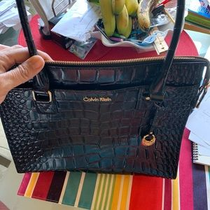 Black Calvin Kline  purse